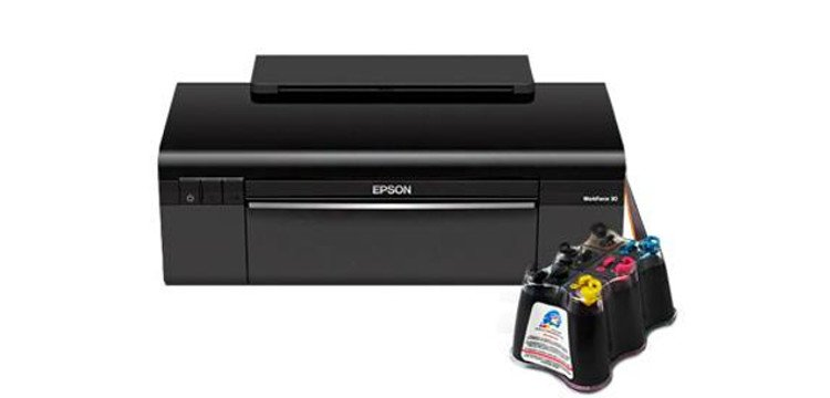 Принтер Epson Workforce 30 с системой НПЧ