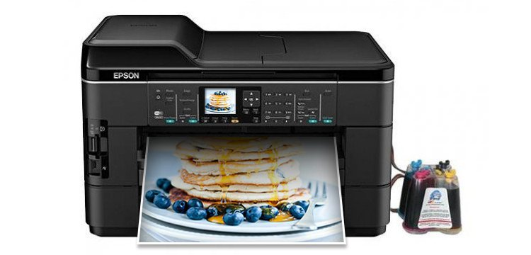 МФУ Epson WorkForce WF-7520 с системой НПЧ