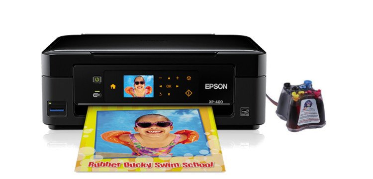 МФУ Epson Expression Home XP-400 с системой НПЧ