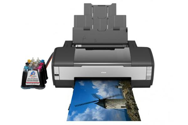 Принтер Epson Stylus Photo 1410 с системой НПЧ