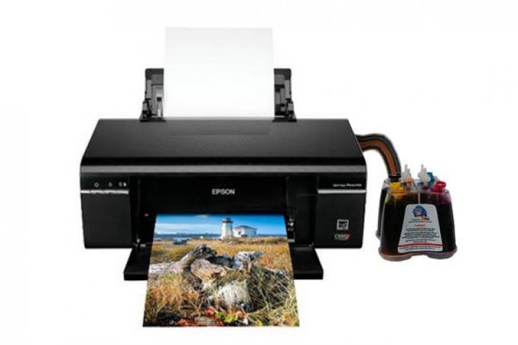 Принтер Epson Stylus Photo P50 с системой НПЧ