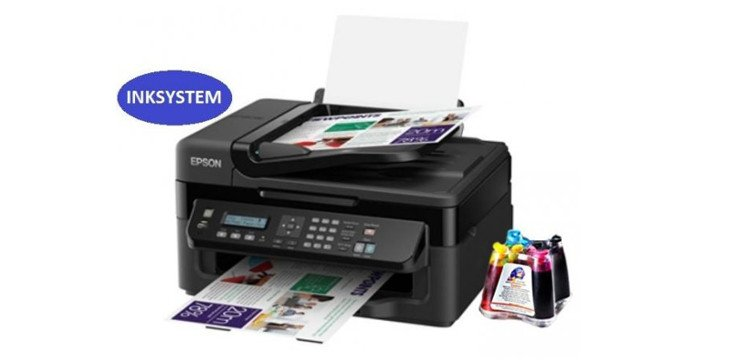 МФУ Epson Workforce WF-2530WF Refurbished с СНПЧ