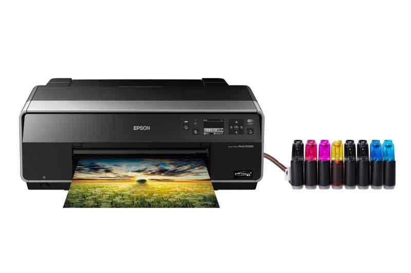 Принтер Epson Stylus Photo R3000 с системой НПЧ