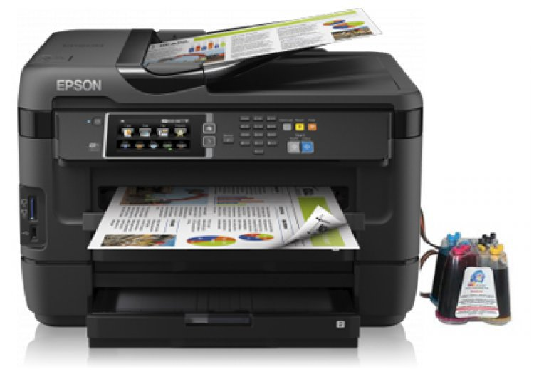 МФУ Epson WorkForce WF-7620DTWF Refurbished с СНПЧ