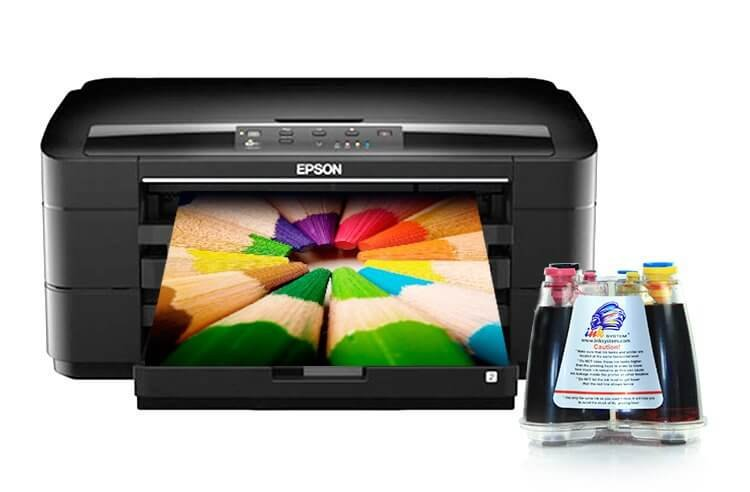 Epson WorkForce WF-7015 с СНПЧ картинка