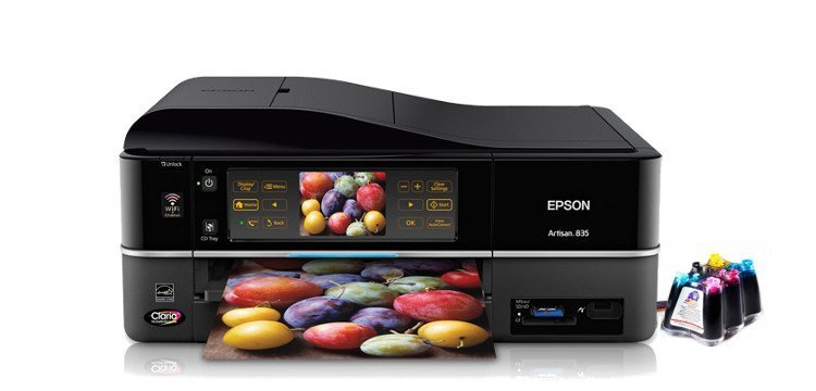Epson Artisan 835 с СНПЧ Refurbished 1