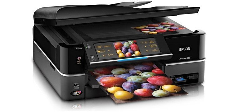 Epson Artisan 835 с СНПЧ Refurbished 5