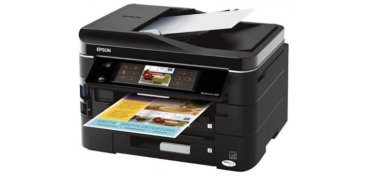 Epson WorkForce 845 с СНПЧ 2