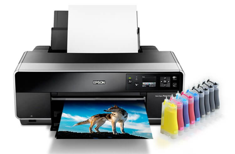 Epson R3000 Refurbished с СНПЧ 1